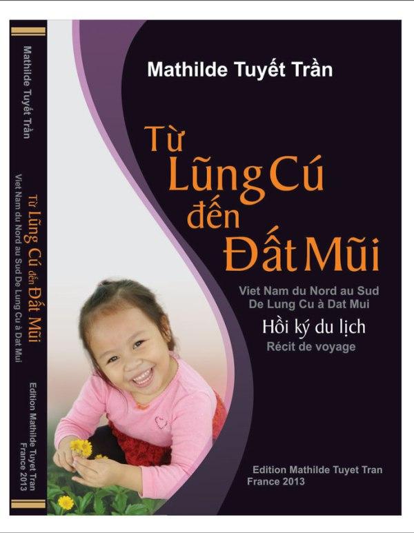 Bìa sách Từ Lũng Cú đến Đất Mũi - Nguyễn Viết Dũng thiết kế