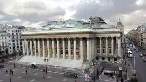 La Bourse de Paris (Palais Brongniart)  AFP Photo Francois Guillot
