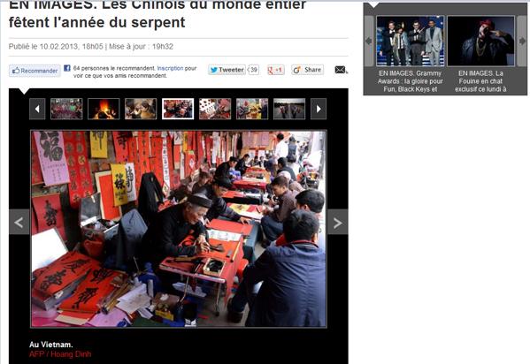 Chercher l'erreur ?! Le Parisien 10.02.2013