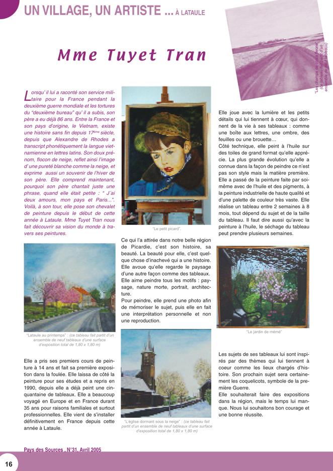 Journal numéro 30 du Pays des Sources, Picardie, France