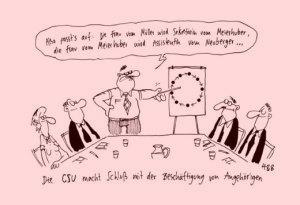 Quelle: Cartoon Hauck und Bauer - Der Spielgel 06.2013