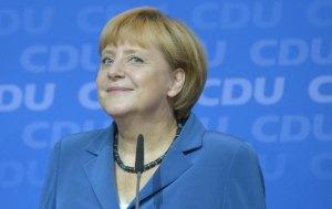 Nữ thủ tướng Angela Merkel, bầu cử 22.09.2013 Nguồn ảnh: AFP