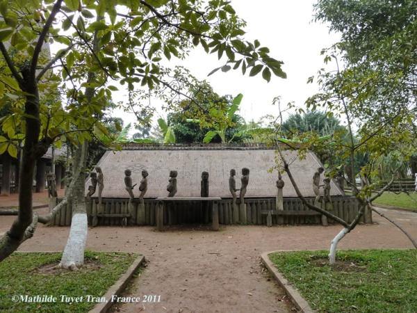 Musée de Ethnologie à Ha Noi. Photo: Mathilde Tuyet Tran 2011
