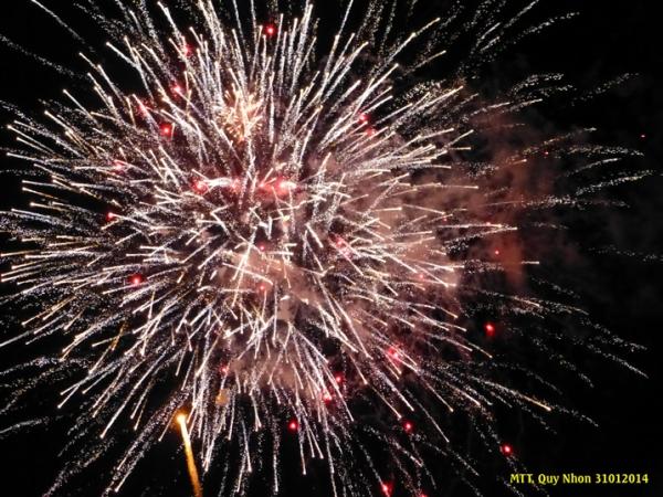 20 phút pháo hoa mừng Tết Giáp Ngọ 2014 - 20 minutes de feu d'